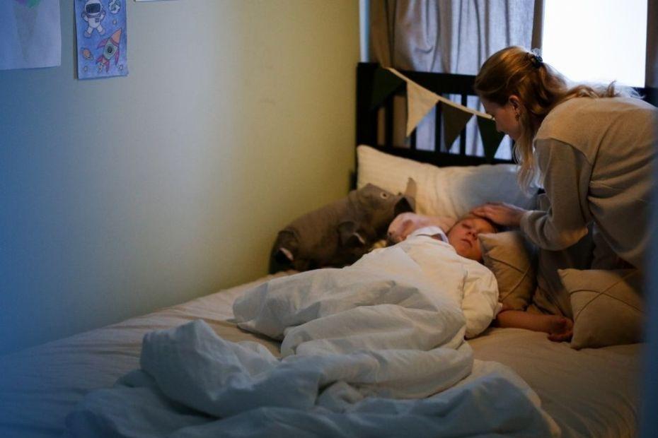 Concediul medical pentru îngrijirea copilului bolnav Mama lui Vladimir