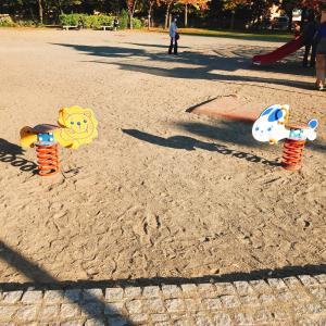 長野市若里公園スプリング遊具