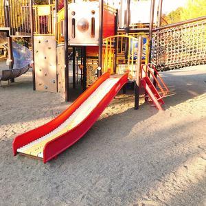 長野市若里公園ローラーすべり台