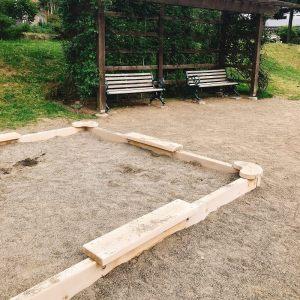 一本木公園砂場