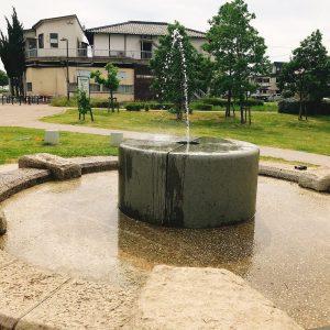 大豆島公園噴水