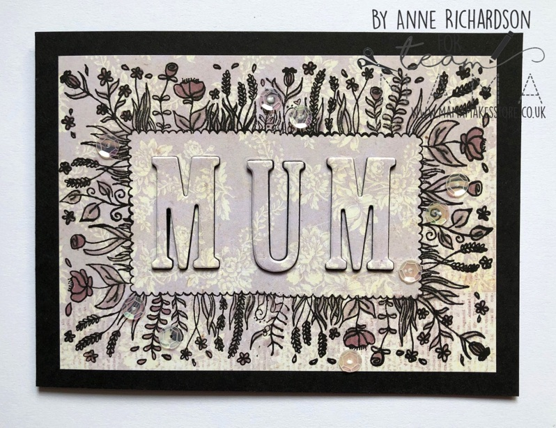 Mother's Day Floral card – Anne Richardson