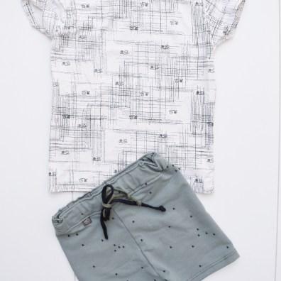 Shirtje: Small Rags @ Kidsandso | Broekje: Littlejet