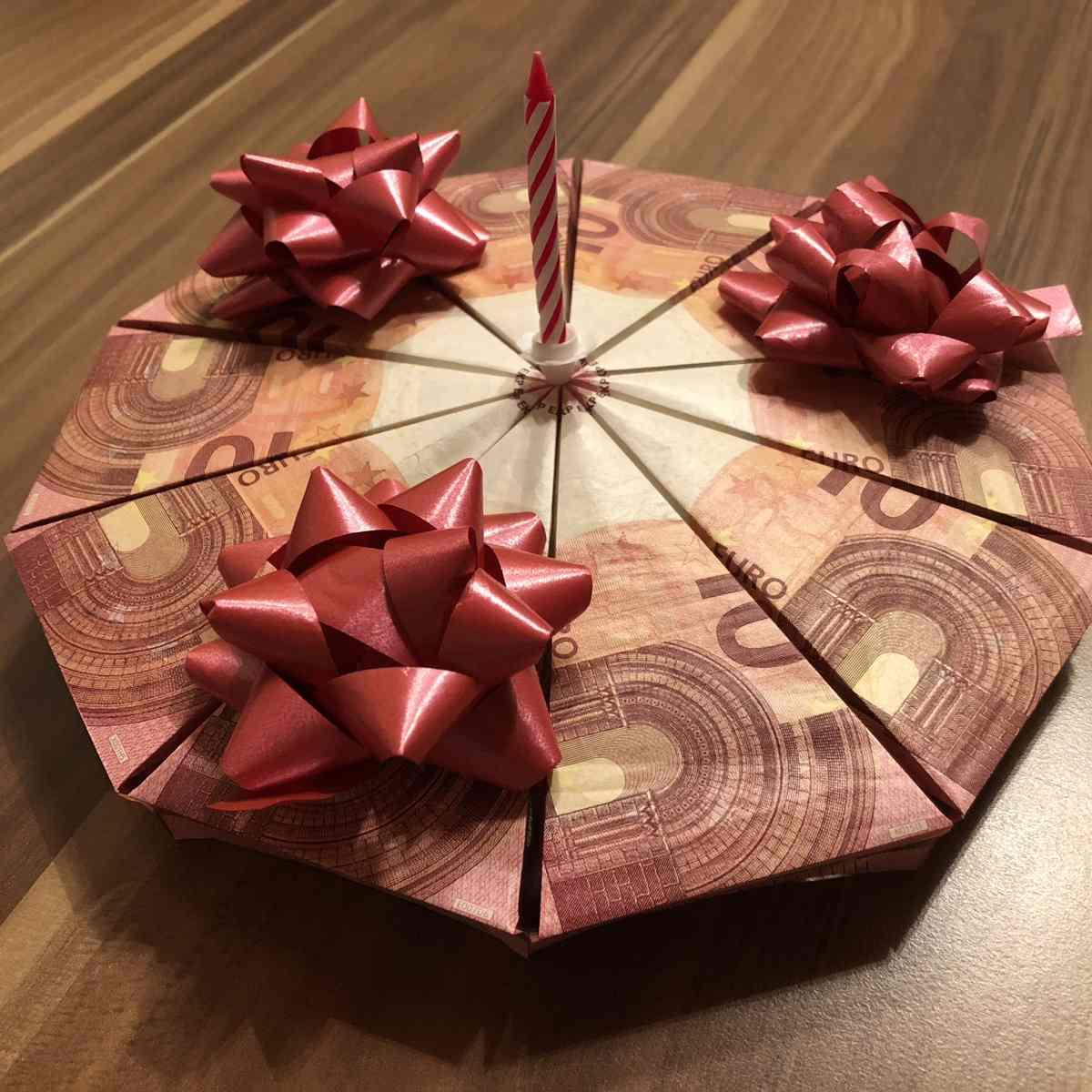 Geldgeschenke Basteln Torte Coole Geldgeschenke 35 Unvergleichlich