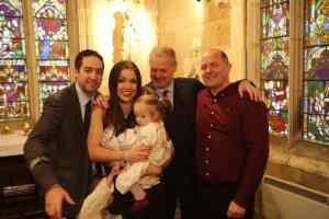 gay dads christening baptism chantry chapel