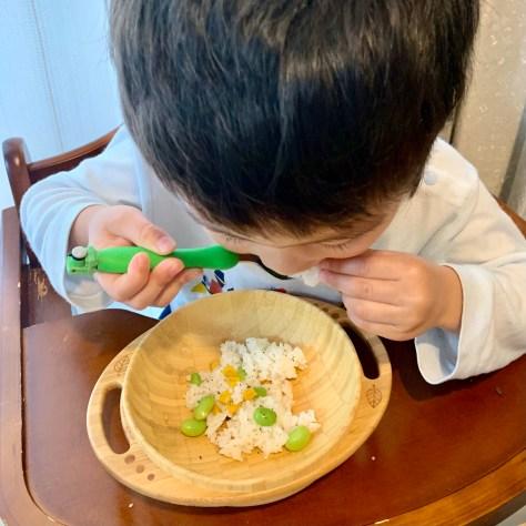 「枝豆りコーンのライスサラダ」を作ってみた