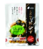 昔ながらの甘味が売り こんぶ豆