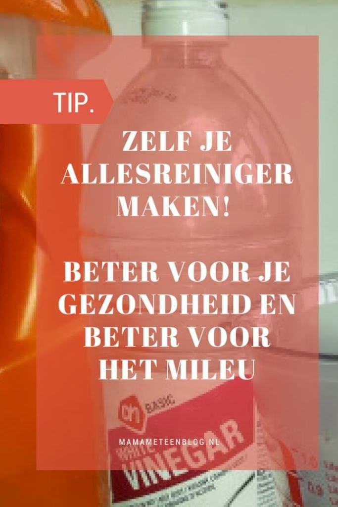 TIP zelf allesreiniger maken mamameteenblog.nl