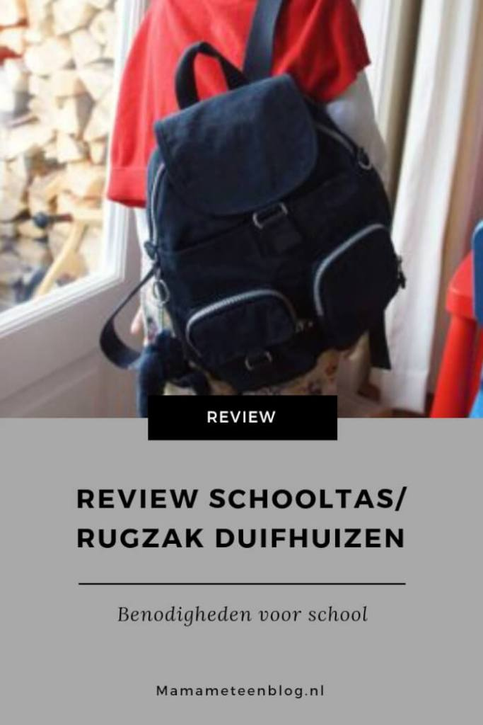 Review schooltas Duifhuizen mamameteenblog.nl