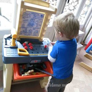 speelgoedwerkbankje peuter kleuter 5