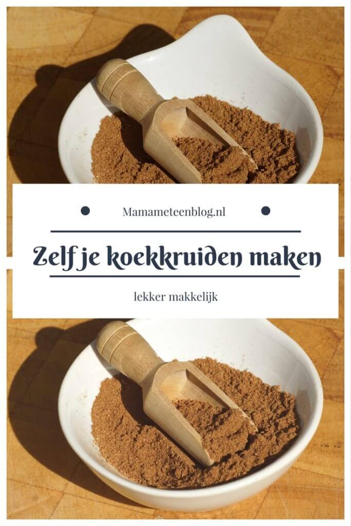 Zelf koekkruiden maken mamameteenblog.nl