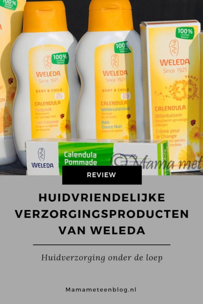 Huidvriendelijke verzorgingsproducten van Weleda mamameteenblog.nl