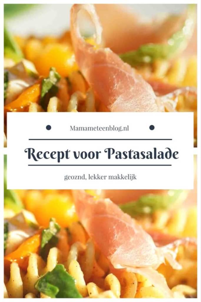 recept pastasalade mamameteenblog.nl