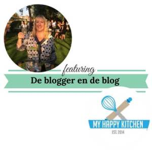 De blogger en de blog my happy kitchen mamameteenblog.nl