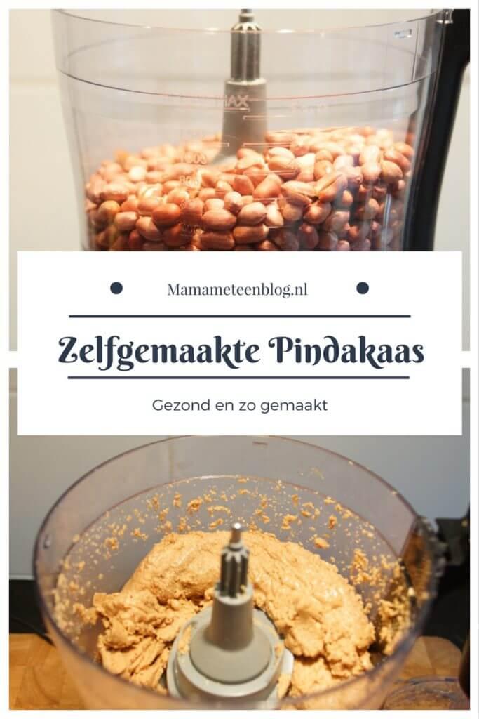 Zelfgemaakte Pindakaas mamameteenblog.nl