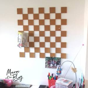 prikbord interieur mamameteenblog.nl