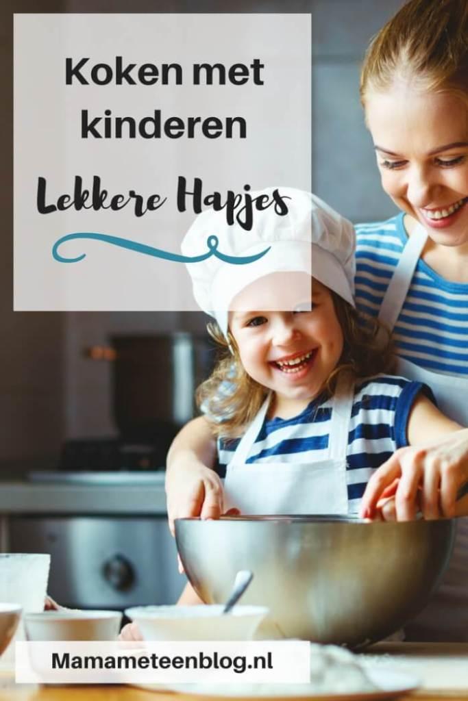 Koken met kinderen Mamameteenblog.nl