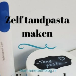 diy tandpasta mamameteenblog.nl