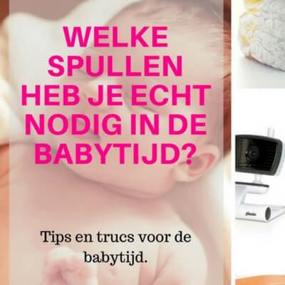 spullen babytijd mamameteenblog.nl
