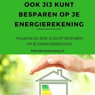energierekening besparen Mamameteenblog.nl