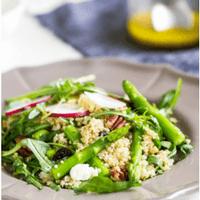 Lente salade recept mamameteenblog.nl