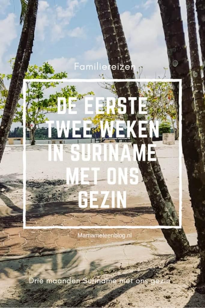 De eerste twee weken Suriname met ons gezin Mamameteenblog.nl