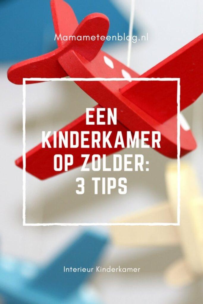 Een kinderkamer op zolder: 3 tips