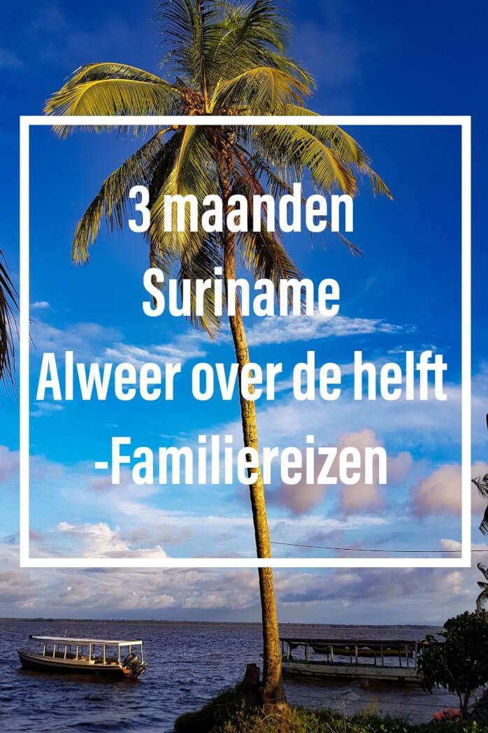 Familiereizen onze reis door suriname voor 3 maanden mamameteenblog.nl