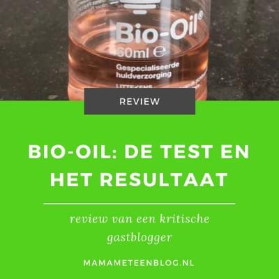 bio-oil test en resultaat mamameteenblog.nl