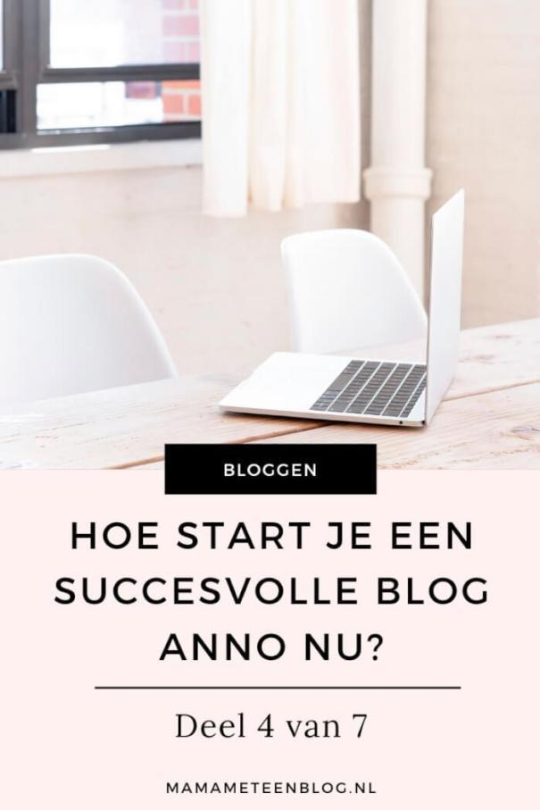 geld verdienen blog Hoe start je een succesvolle blog 4_7 mamameteenblog.nl