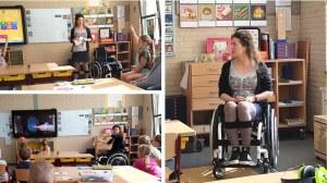 Acties - Mama met MS op basisschool