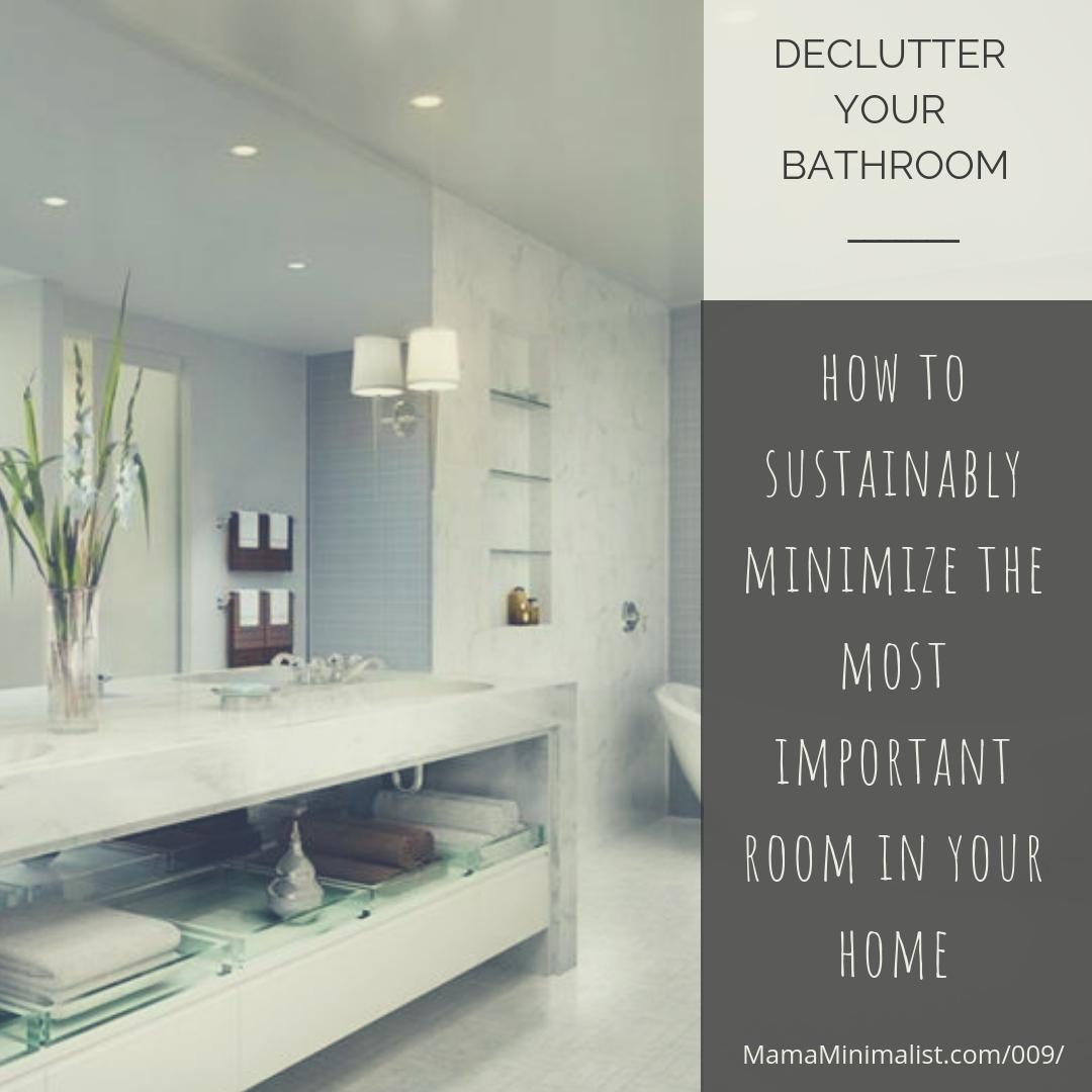 Minimalist Bathroom Toiletries: How To Create A Sustainable Minimalist's Bathroom