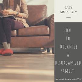 How to organize a disorganized family.