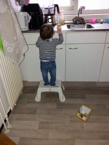Nola gaat klimmen