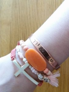 armbandjes gemaakt workshop