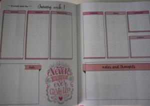 pagina 3 bullet journal action