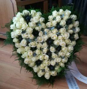 afscheid bloemen kinderen, kleinkinderen en achterkleinkinderen