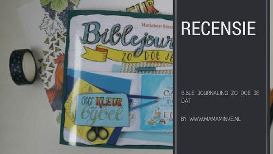 Bible journaling recensie uitgelichte afbeelding