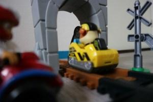 avontuur Rubble baant zich een weg