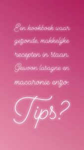 dagboek tips