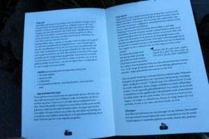 mosterdzaadjes binnenkant van het boek