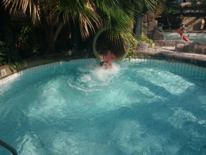zwembad VIP huisje huttenheugte Center Parcs