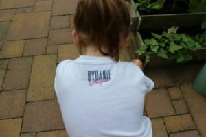 Vingino kleding voor de kinderen Nola achterkant shirt