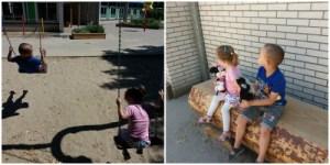 Dagboek #20 spelen op het schoolplein