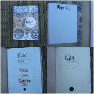 Mijn bijbel journal van MUS in de nieuwe lijn van bijbel journaling spullen die MUS heeft uitgebracht. Getest met verschillende (betaalbare) materialen. De MUS Bijbel journal