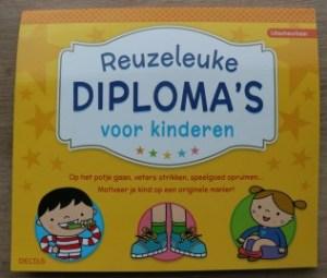 Reuzeleuke diploma's voor kinderen om je kind te belonen zonder cadeautje voorkant