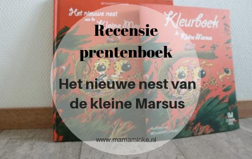 boekrecensie van het prentenboek het nieuwe nest van de kleine marsus. Een leuk prentenboek over het verliezen van een huis en de zoektocht naar een nieuwe. foto uitgelichte afbeelding