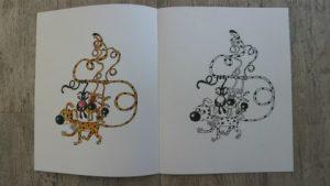 boekrecensie van het prentenboek het nieuwe nest van de kleine marsus. Een leuk prentenboek over het verliezen van een huis en de zoektocht naar een nieuwe. foto binnenkant van het kleurboek