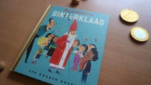 Het verhaal van sinterklaas gouden boekje