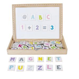 Speelgoed wishlist webshop linijn abc magneet puzzel